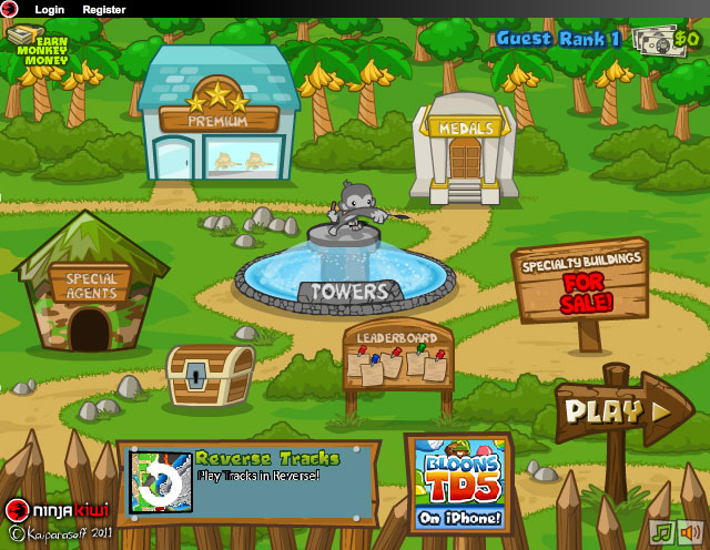 Best games ever bloons td 5 play free online