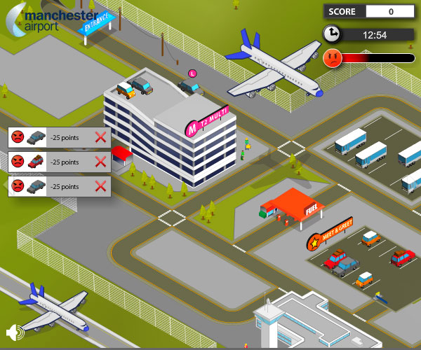 airport online game