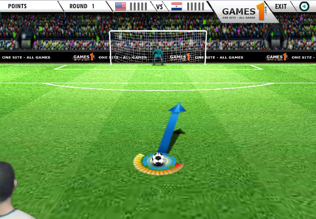 play the best free kick games