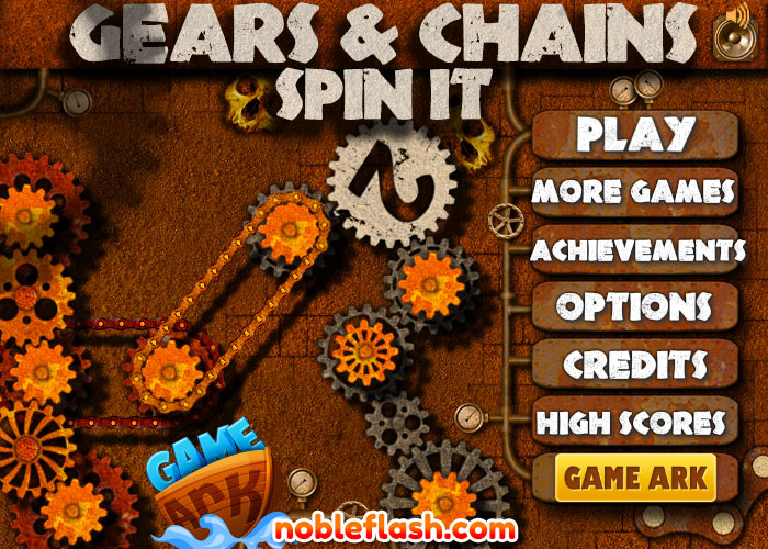 Gears And Chain Spin It 2