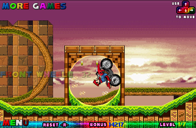 Best Games Ever - Mario ATV in Sonic Land - Play Free Online