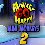 Monkey GO Happy: mini monkeys 2