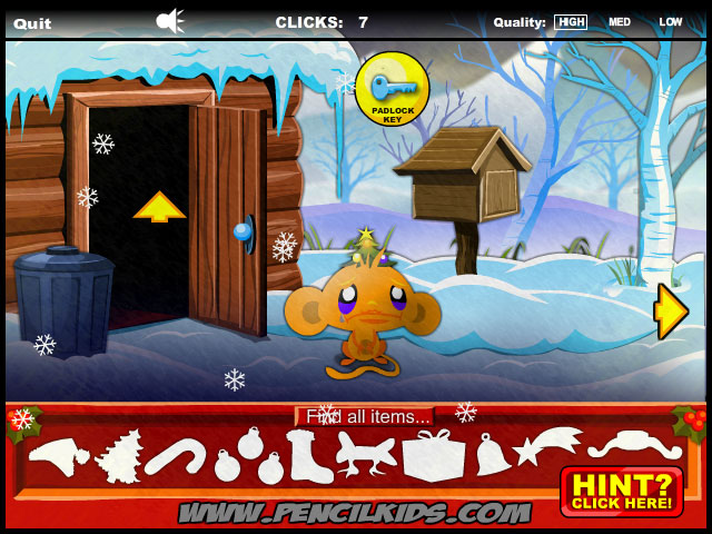 Best Games Ever Monkey Go Happy Christmas Play Free