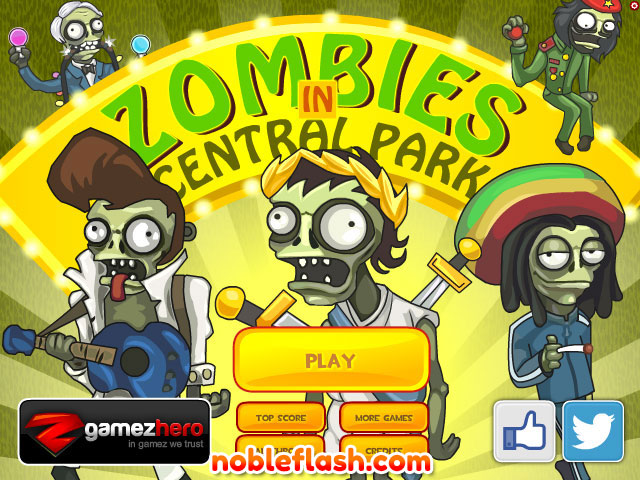 south park zombie games online free